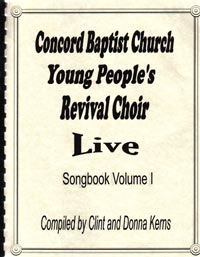 Concord Revival Choir - Live Songbook